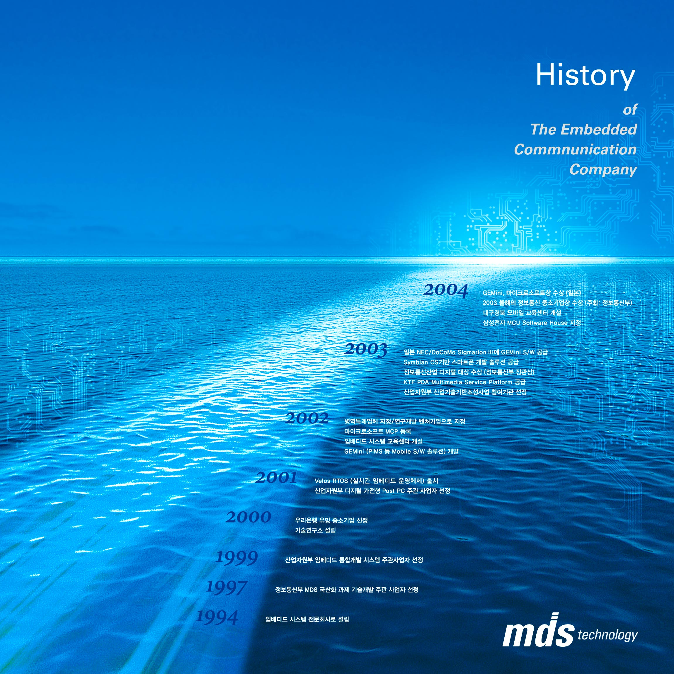 MDS Poster MDS Technology Print