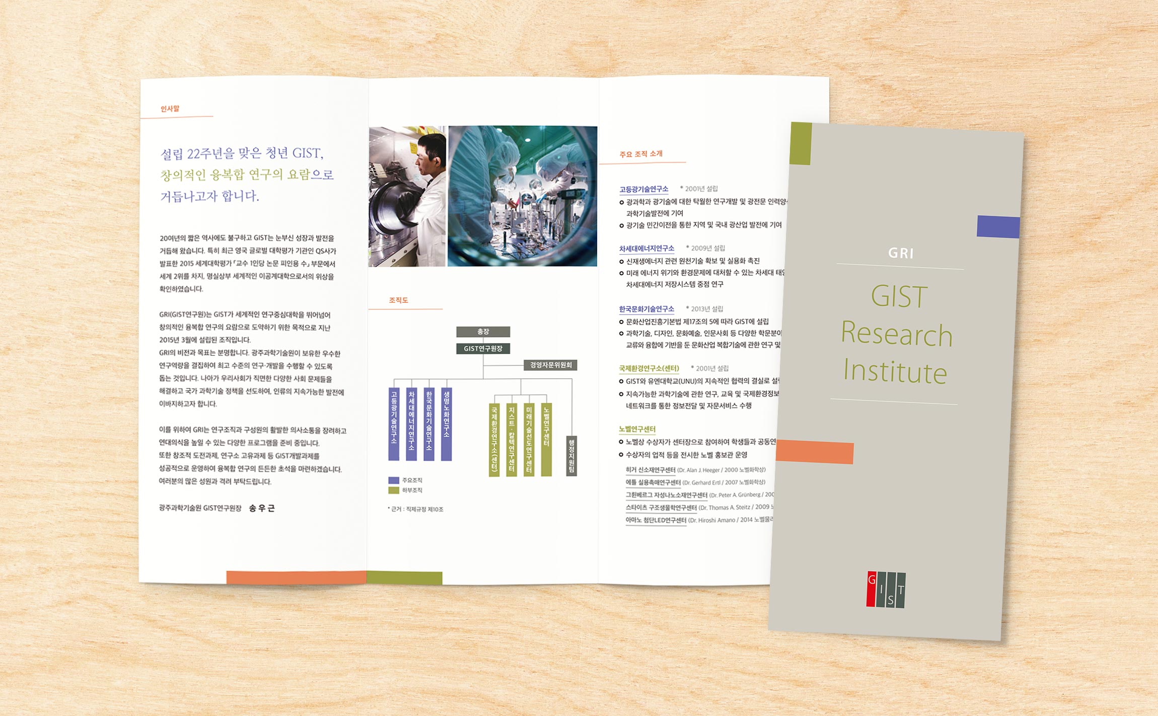 GRI Book & Pamphlet Gwangju Institute of Science and Technology (GIST) Print